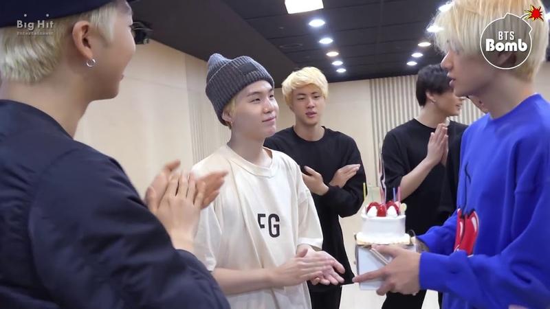 [ENG SUB] [BANGTAN BOMB] SUGA's Surprise Birthday Party! - BTS (방탄소년단)
