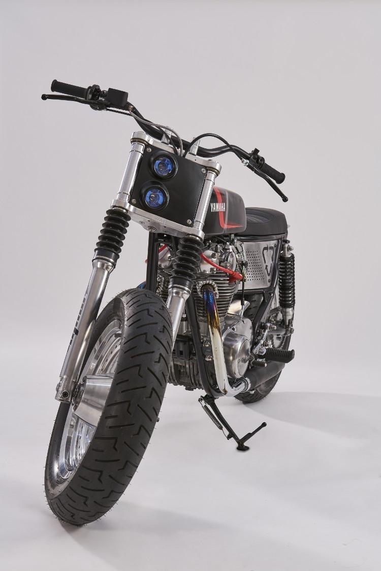 MUTO Motorbikes: флэт-трекер Yamaha XS650