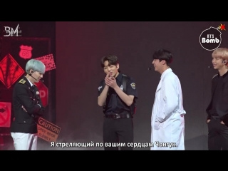 [RUS SUB][BANGTAN BOMB] Behind the stage of 'Dope' @BTS COUNTDOWN - BTS