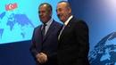 Противодействие санкциям США стало одной изтем брифинга Сергея Лаврова иМевлюта Чавушоглу