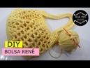 Como fazer bolsa de crochê com fio de malha- Bolsa rede - Eco bag - Bolsa Renê | Edi Art Crochê