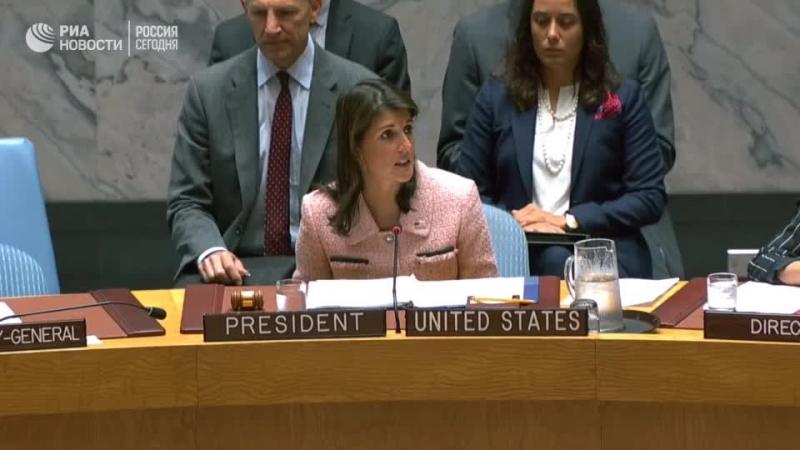 Заседание Совбеза ООН по ситуации в Идлибе