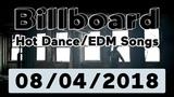 Billboard Hot DanceElectronicEDM Songs TOP 50 (August 4, 2018)