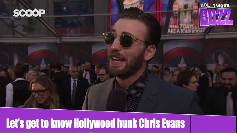 Let's get to know Hollywood hunk Chris Evans