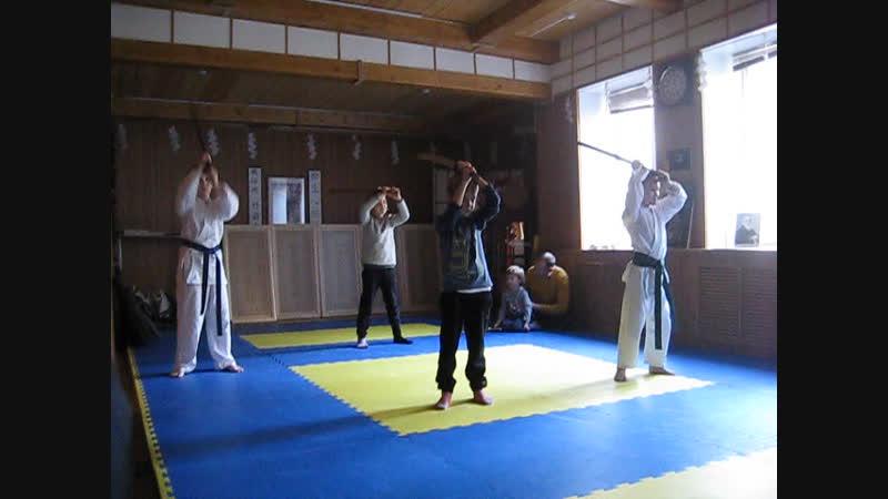 Японский меч европейский меч открытый урок для детей в Арбат Додзё КБИ Маяк 11 11 2018