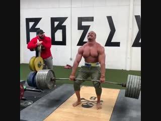 Strength of Body. Становая тяга 265 кг на 18 раз