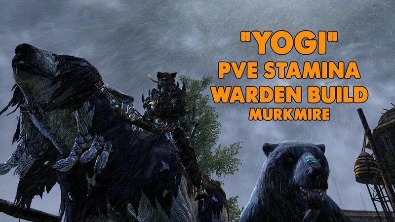 ESO - Yogi - Stamina Warden PVE BOW/BOW build - (Murkmire)