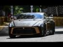 Совместный суперкар Nissan и Italdesign впервые вывели на трек