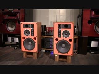 DIANA KRALL vs. JBL 4344M vermilion colored baffle modified by KENRICK SOUND