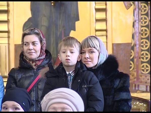 В Спасо-Преображенском соборе прошел рождественский утренник