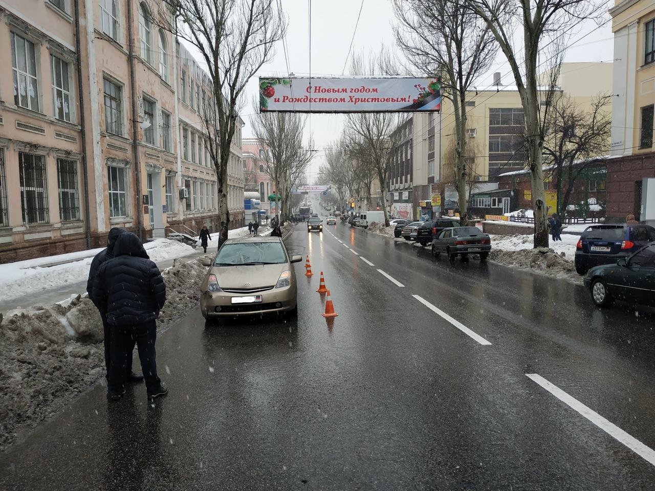 В Донецке за сутки произошло два ДТП с участием пешеходов