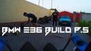 BMW e36 build stance project p.5 Короткоходная кулиса, резина на БМВ е36 Fittedlow vlog s14