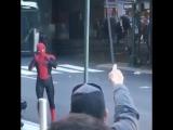 «Человек-Паук: Вдали от Дома» — Съёмки.
