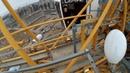 Башенный кран Замена лампочек на стреле Работа на высоте