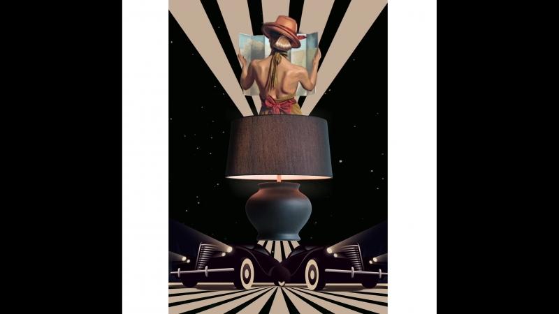Настольная лампа Harrods Lucia Tucci