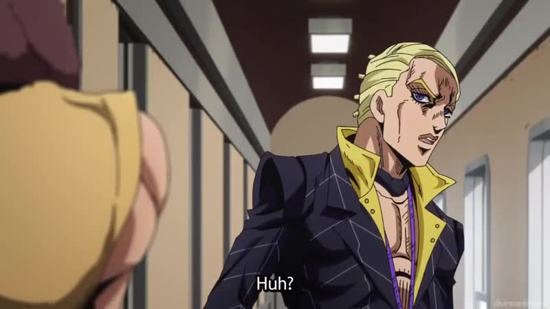 ジョジョ 5 _ Prosciutto Pesci Appears _ Prosciutto activates his Stand , _ The Grateful Dead _ЯпонияAnimeJOJO Prosciutto