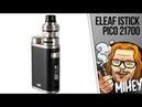 Eleaf iStick Pico 21700 with ELLO Kit Чуть больше чуть лучше ❄❄❄