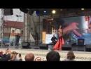 Восточный танец на празднике «Бакинский бульвар» в Минске