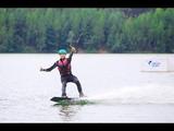 Серфинг и вейкбординг в летнем лагере Командор.