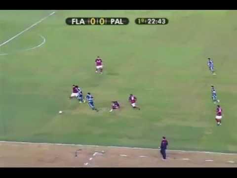Diego Souza - Chapéu - Flamengo 1x2 Palmeiras