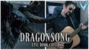 Final Fantasy XIV Dragonsong EPIC ROCK COVER Little V
