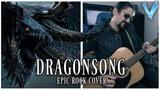 Final Fantasy XIV - Dragonsong EPIC ROCK COVER (Little V)