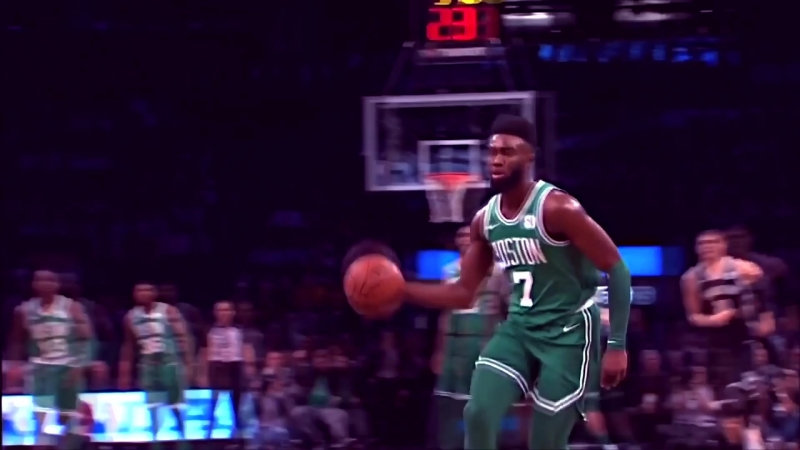 Jaylen Brown Windmill Dunk