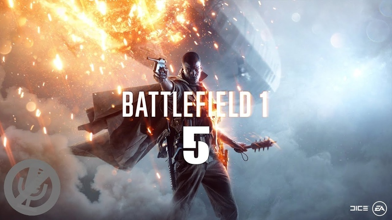Battlefield 1 Прохождение На ПК Без Комментариев На 100% Часть 5 - Сталь на сталь