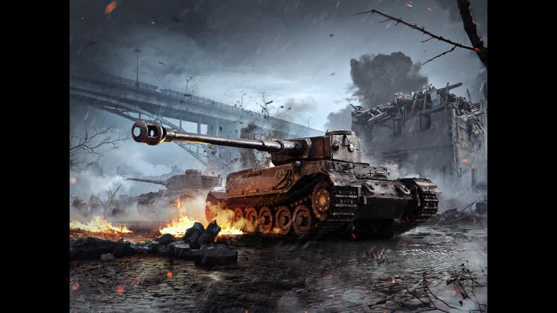 Прохоровка Зима - Встречный бой, Tiger P