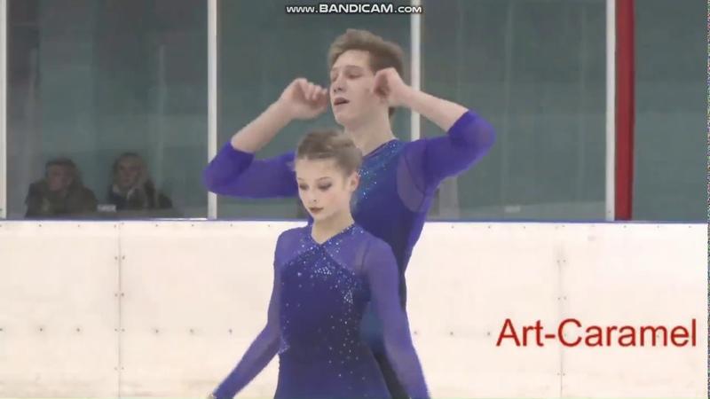 Татьяна Кузьмина Алексей Хвалько ПП КМС Финал Кубка Санкт Петербурга 2019