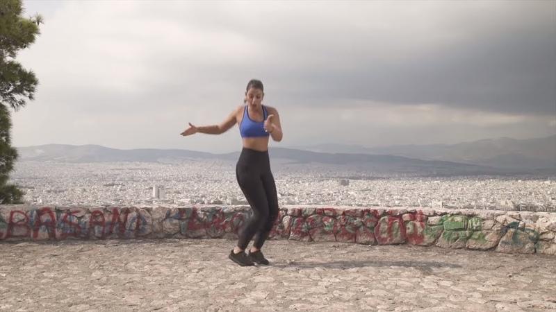 Тренировка ВИИТ без снаряжения из Афин, Греция. HIIT Workout:- No Equipment from Athens, Greece