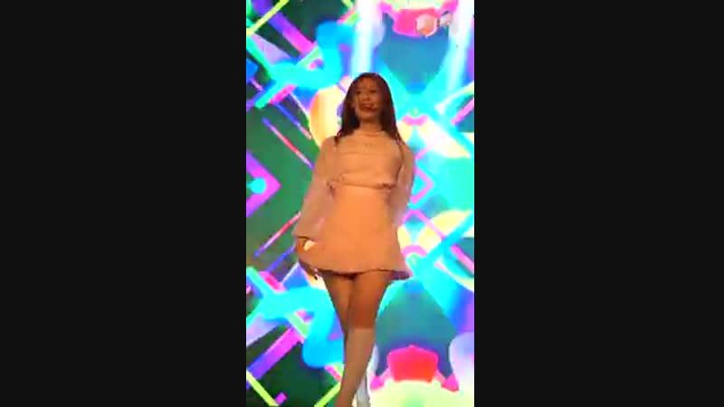 [FANCAM] GWSN (Minju) - That's My Girl (Fifth Harmony dance cover) @ Alpha King The Sense Mini concert 190111