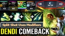 They CAN'T BELIEVE Dendi 1vs5 Medusa 4x Passive Stack w Butterfly Epic Shit Gameplay