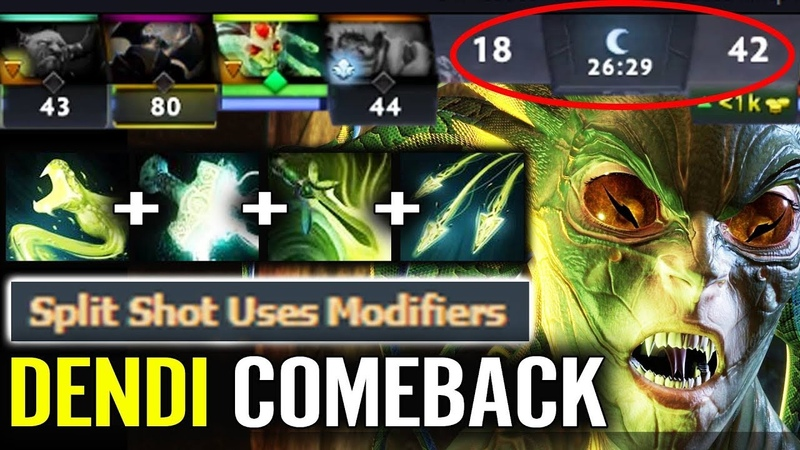 They CAN'T BELIEVE Dendi 1vs5 Medusa 4x Passive Stack w/ Butterfly Epic Shit Gameplay