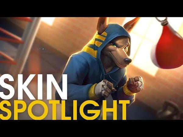 Heavy Hitter Anubis Skin Spotlight