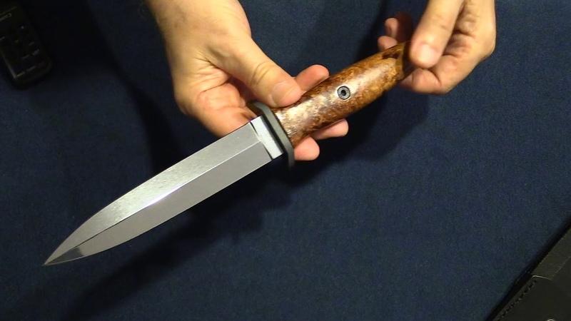 Boker Applegate 1674 Fixed 6 Blade анбоксинг и первые впечатления