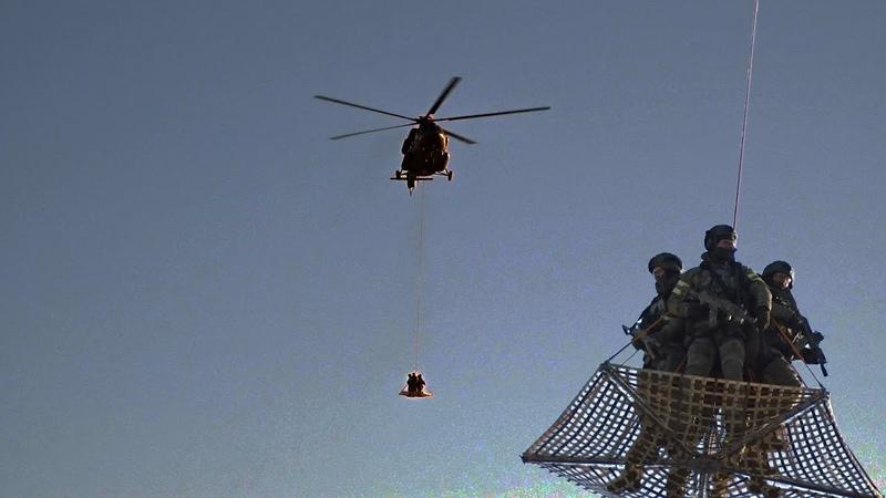 Вертолеты ФСО над Кремлём. Снова!