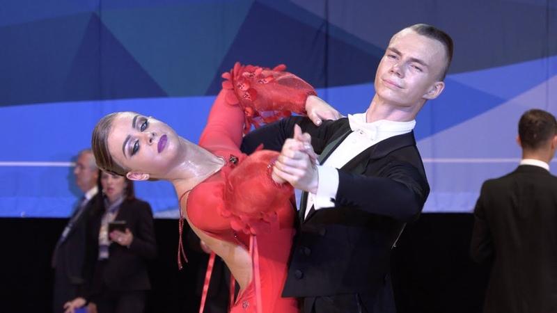 Anton Peredery - Olesja Bobrova LAT, Viennese Waltz | WDSF International Open Standard