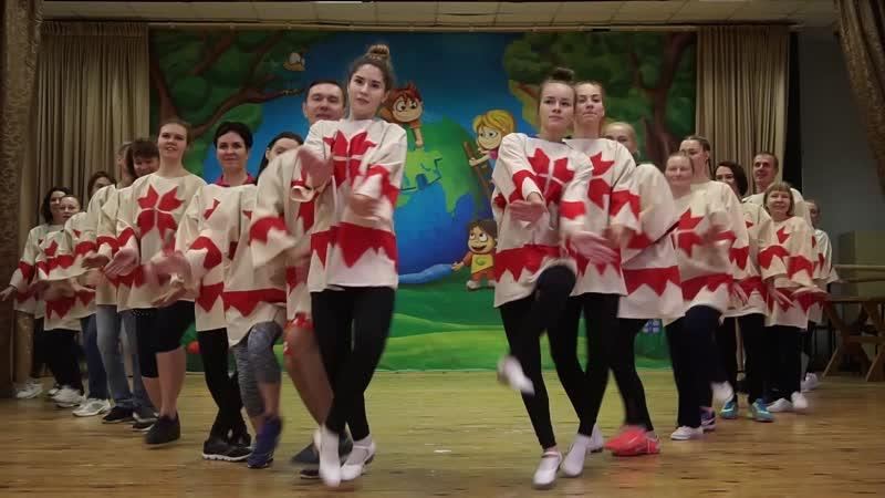 Шоу-игровой коллектив ХОК. Танцевальный выходной, посвящённый Дню Государственности Удмуртской Республики