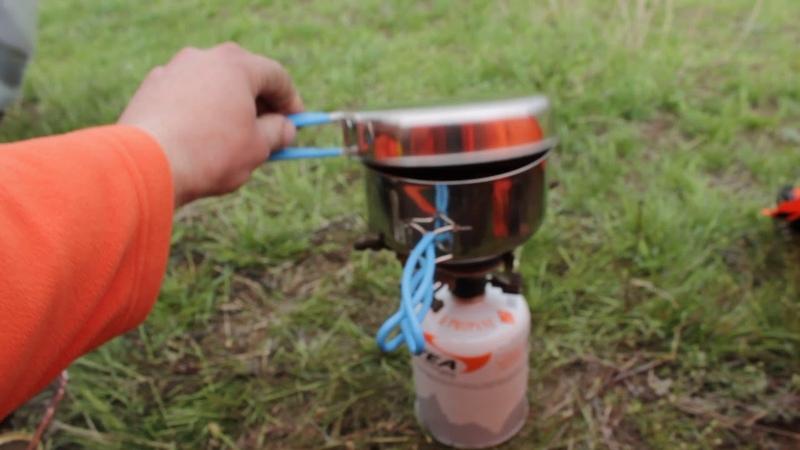 Пища мототуриста бесперспективный суп с тушенкой