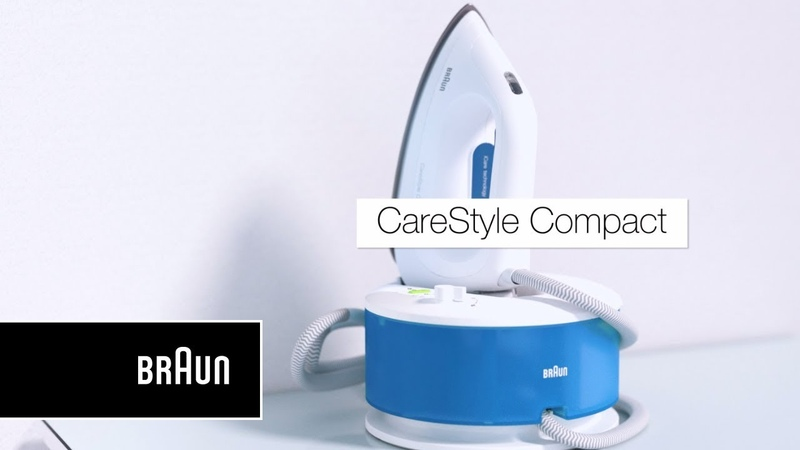 Braun CareStyle Compact Steam generator iron | Introduction