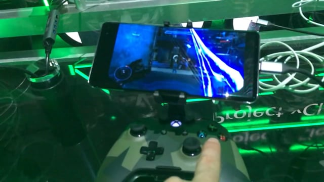 Project Xcloud demo at E3 2019
