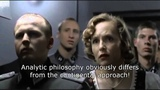 Hitler finds out that the distinction between analytic and continental philosophy is untenable.