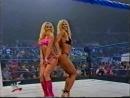 Trish Stratus and Torrie wilson posedown