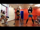 Тверк - Катя Шошина и Леся. Booty dance