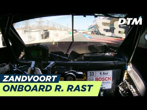 DTM Zandvoort 2018 - René Rast (Audi RS5 DTM) - LIVE Onboard (Race 2)