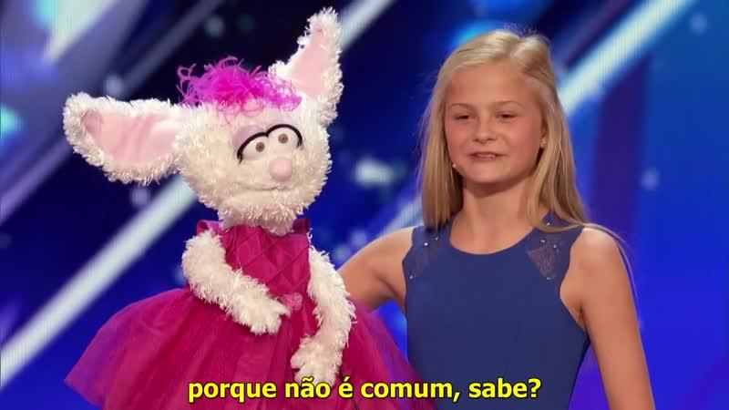 Darci Lynn (Audição - Americas Got Talent 2017) - Legendado - [PT_BR]