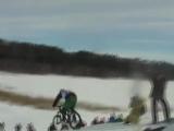 Кто быстрее сноубордист или велосипедист?