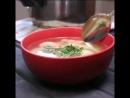 диетический обед.салат с фасолью и суп с фрикадельками