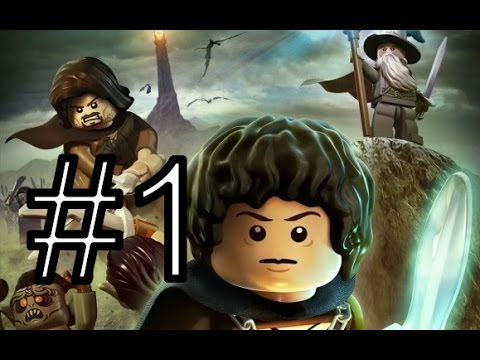 PS3 LEGO The Lord of the Rings Прохождение 1 Пролог